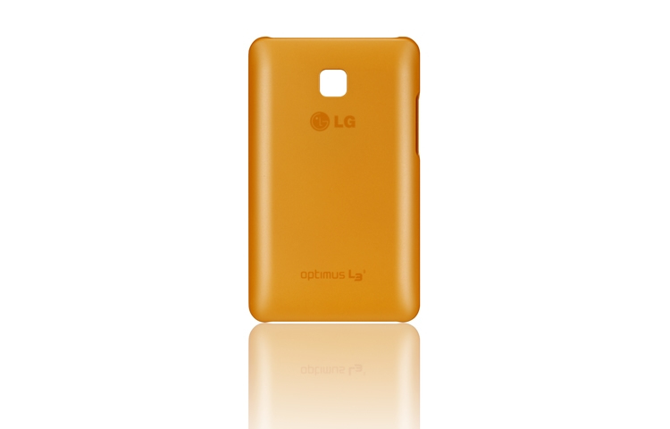 FUNDA MOVIL LG L3 II ULTRA SLIM NARANJA