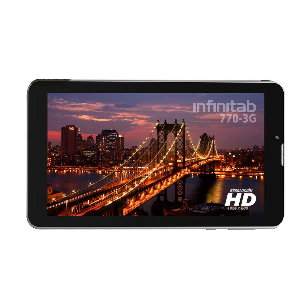 TABLET 7  INFINITON INTAB-770 3G 16GB NEGRO