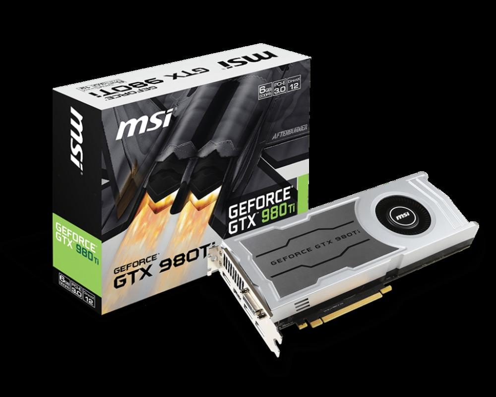 VGA MSI GTX 980 TI  6GD5 V1 6G 6GB GDDR5
