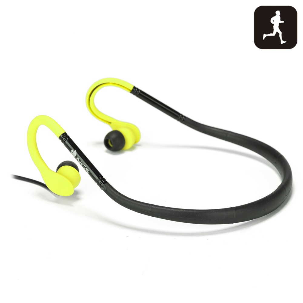 AURICULARES NGS YELLOW COUGAR SPORT