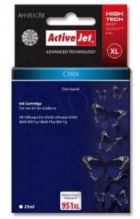 CARTUCHO COMP ACTIVEJET HP 951XL CYAN