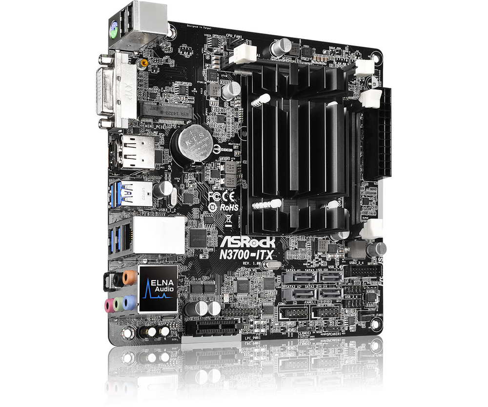 PB ASROCK N3700-ITX CPU INTEL QUAD CORE