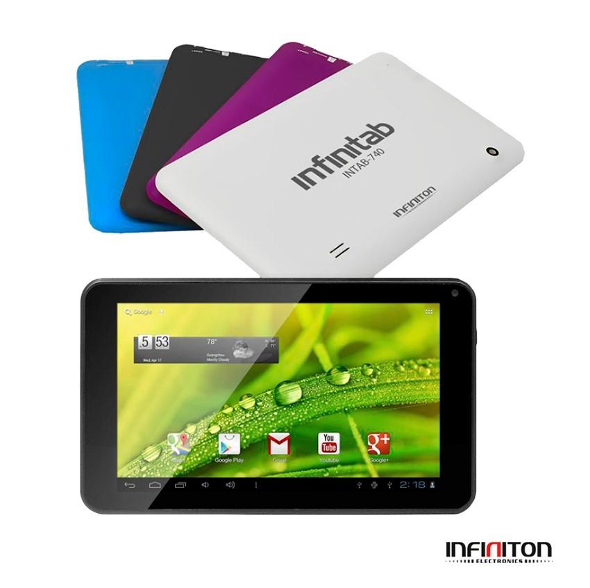 TABLET 7  INFINITON INTAB-740 PLUS 8GB BLANCO