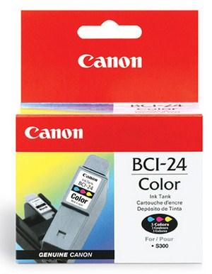 Canon BCI-24C - amarillo, cián, magenta - original - depósito de tinta