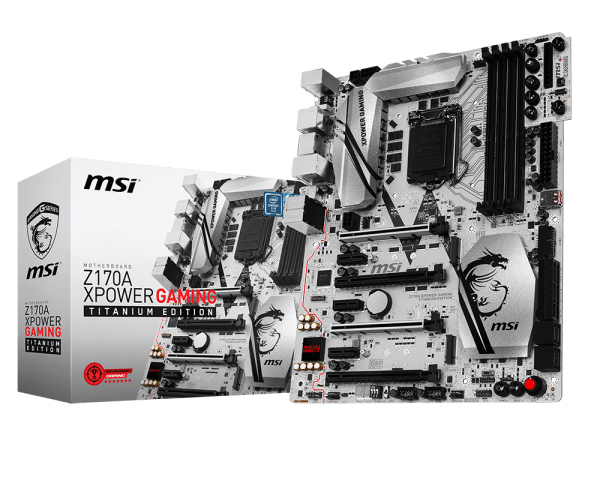 PB MSI 1151 Z170A XPOWER GAMING TITANIUM EDITION