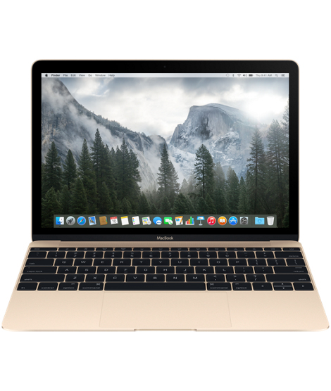 PORTATIL APPLE MACBOOK 12  MK4N2Y/A GOLD