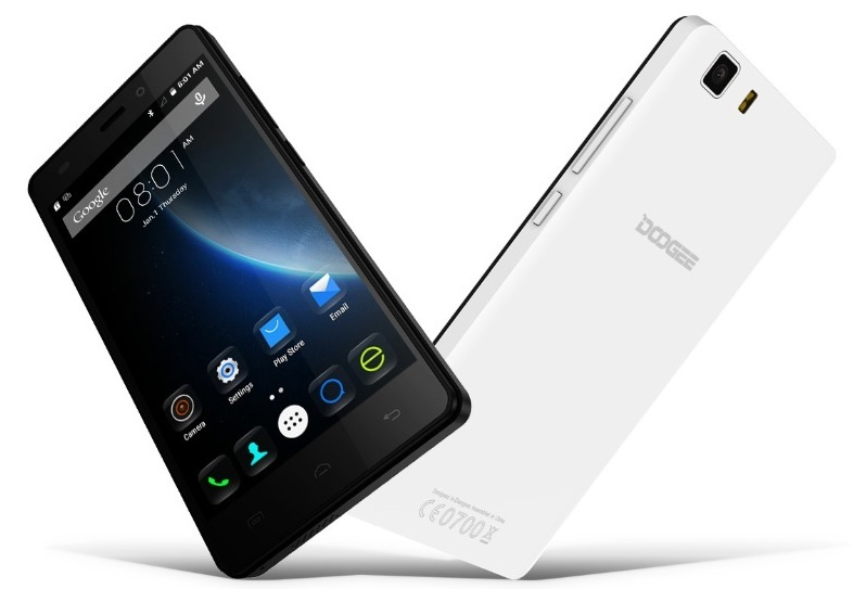 MOVIL DOOGEE GALICIA X5 PRO 2GB 16GB 4G BLANCO