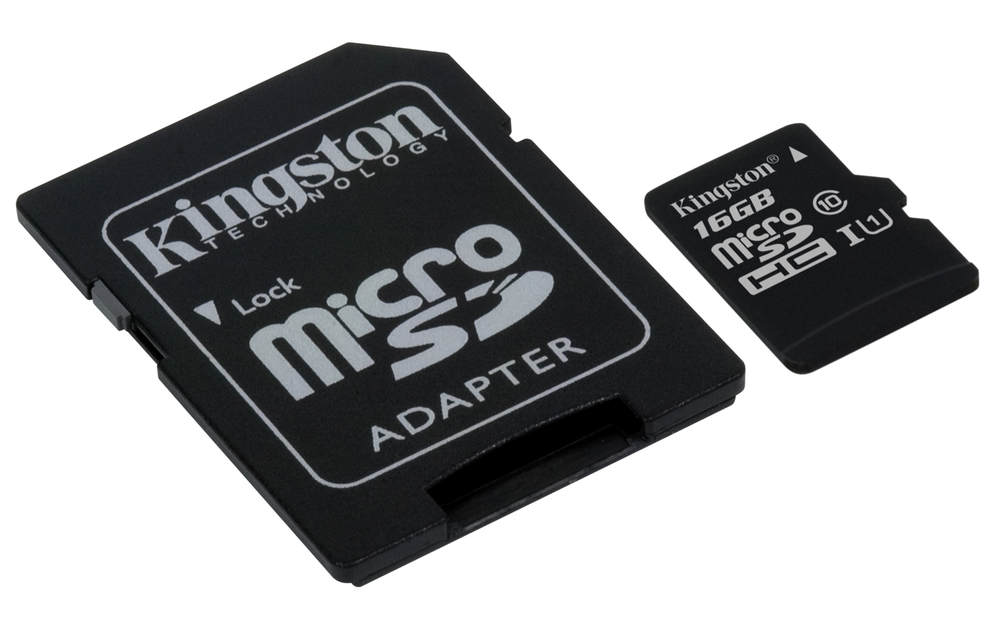 MEM MICRO SD 16GB KINGSTON CL10 GEN2 + ADAPT SD