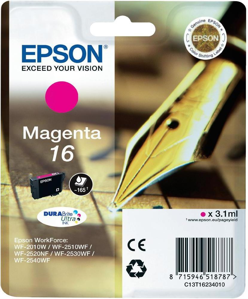 CARTUCHO ORIG EPSON 16 MAGENTA