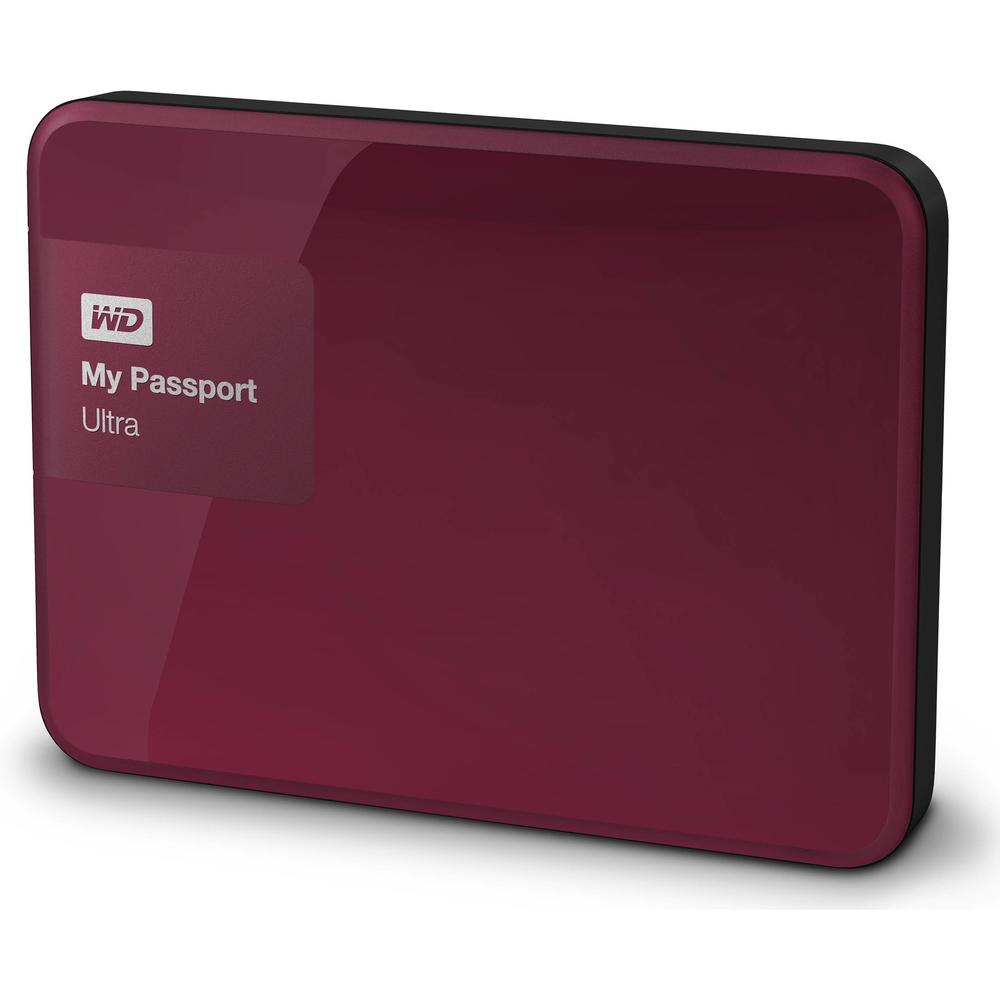 HD EXT USB3.0 2.5  1TB WD MY PASSPORT ULTRA ROJO
