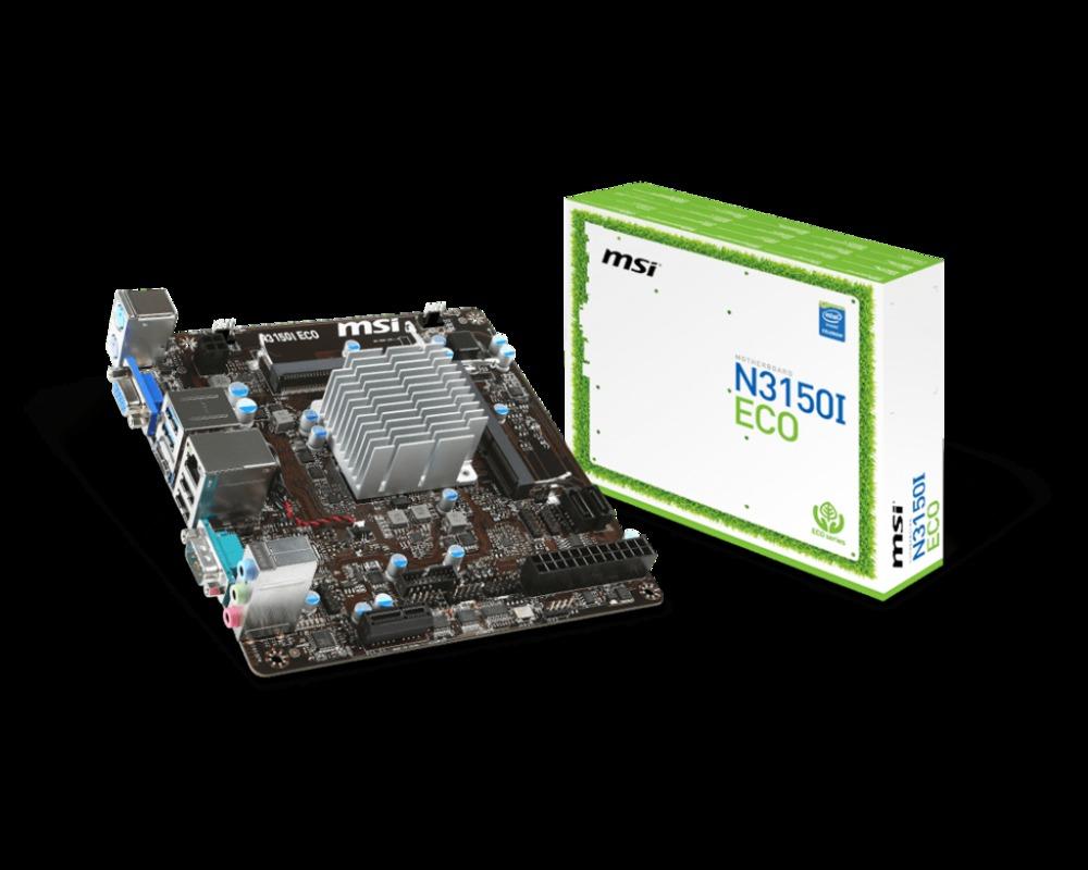 PB MSI N3150I ECO CPU DUAL CORE