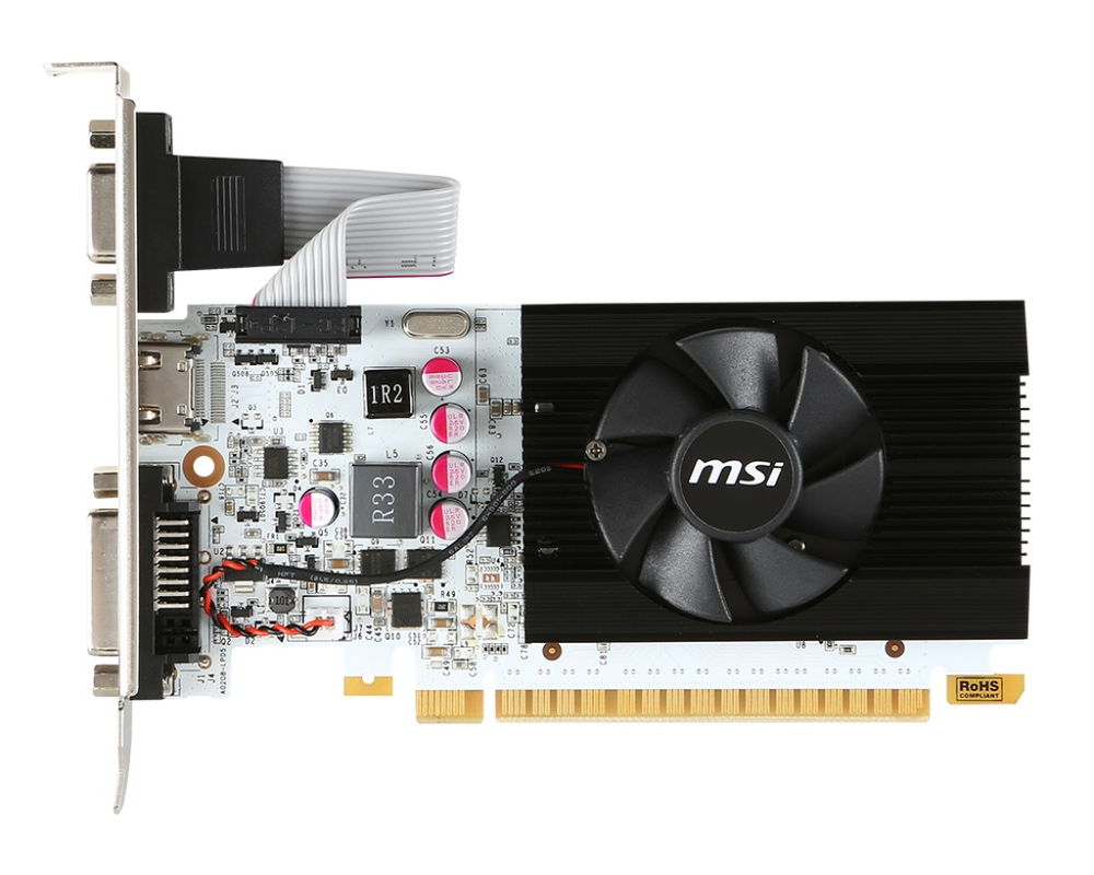 VGA MSI N730K-1GD5LP/OC V1 1GB GDDR5