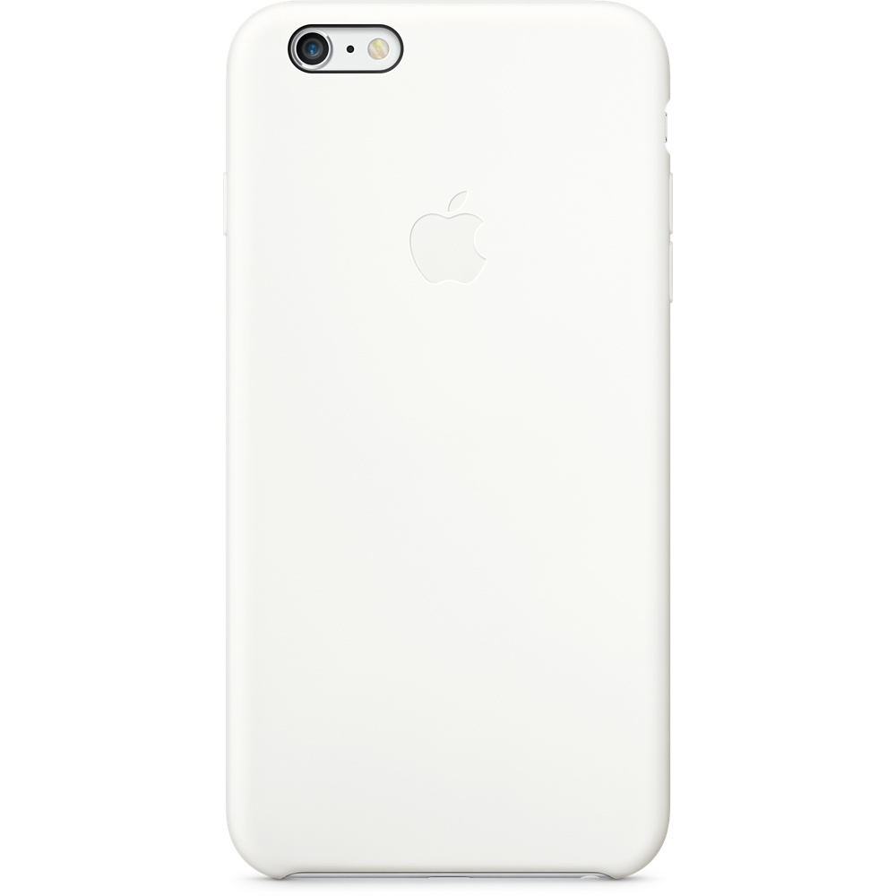 FUNDA APPLE IPHONE 6 PLUS SILICONA BLANCO