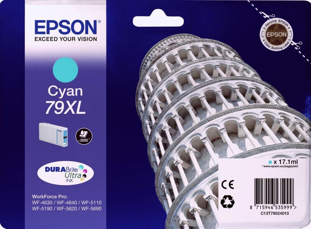 CARTUCHO ORIGINAL EPSON 79XL CYAN