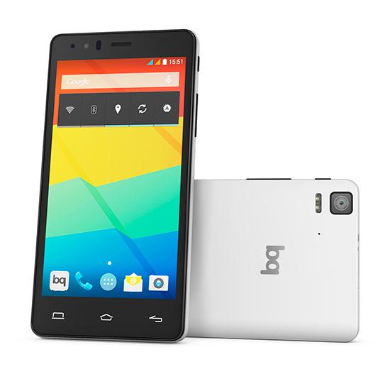 MOVIL BQ AQUARIS E5S 4G LTE 2GB 16GB BLANCO