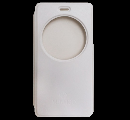 FUNDA SMART COVER MOVIL MYWIGO UNO BLANCO