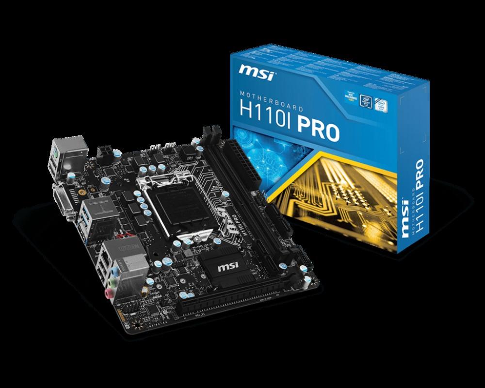 PB MSI 1151 H110I PRO MINI ITX