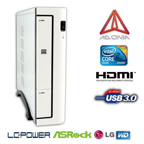 ORDENADOR ADONIA OFFICE BASIC Q1900-ITX BLANCO