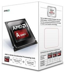 CPU AMD FM2+ KAVERI A8-7670K 4X4 3.6GHz/4MB BOX