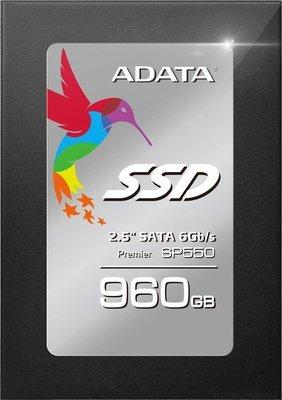 ADATA Premier SP550 - unidad en estado sólido - 960 GB - SATA 6Gb/s