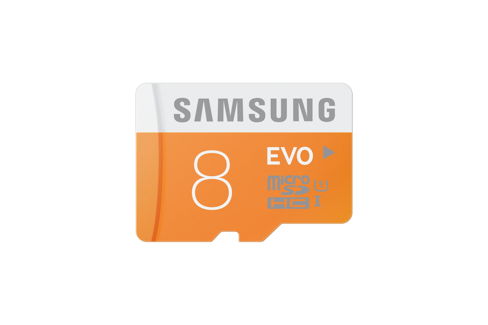 MEM MICRO SD 8GB SAMSUNG EVO CL10 + ADAPT SD