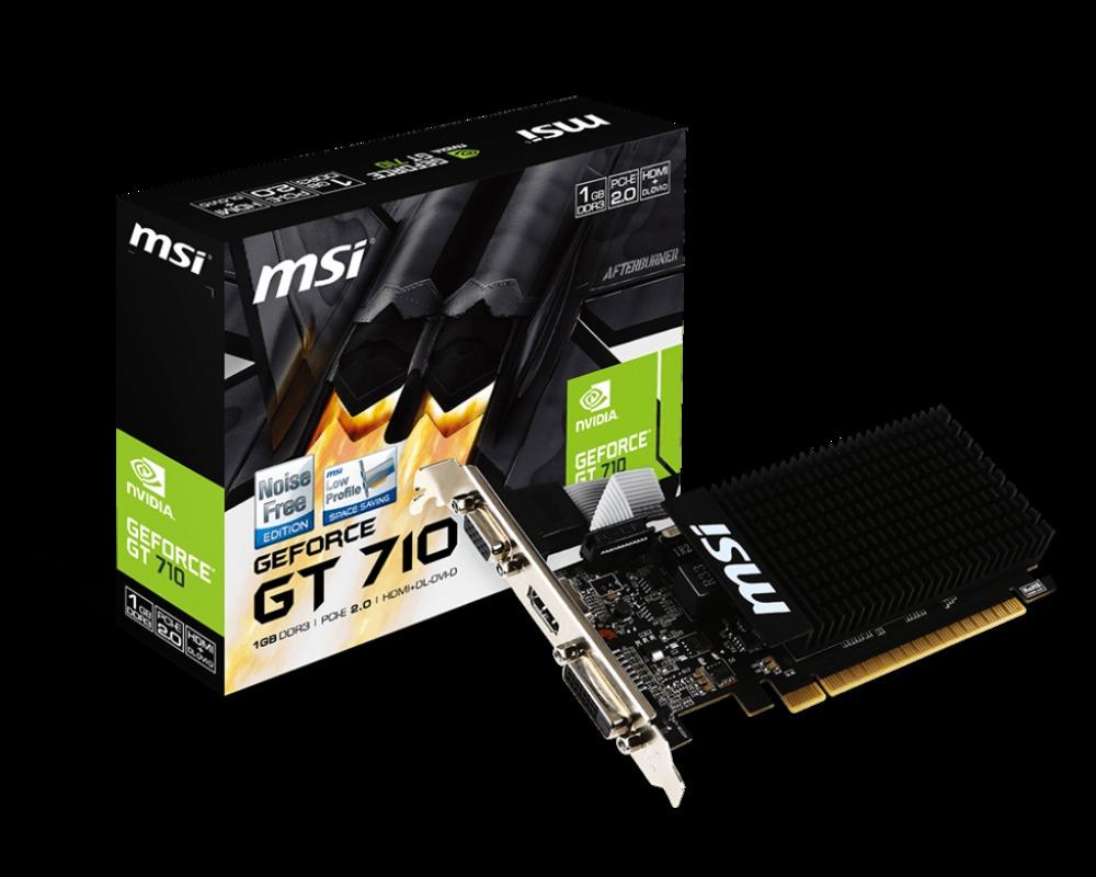 VGA MSI GT 710 1GD3H LP 1GB GDDR3