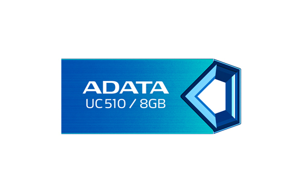 PENDRIVE 8GB USB2.0 ADATA AUC510 AZUL