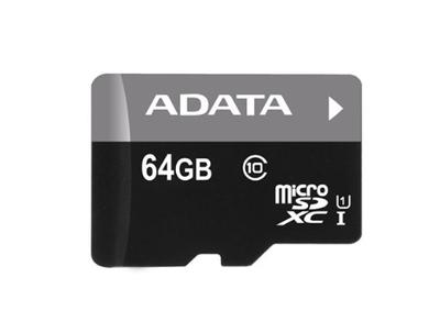 ADATA Premier - tarjeta de memoria flash - 64 GB - microSDXC UHS-I