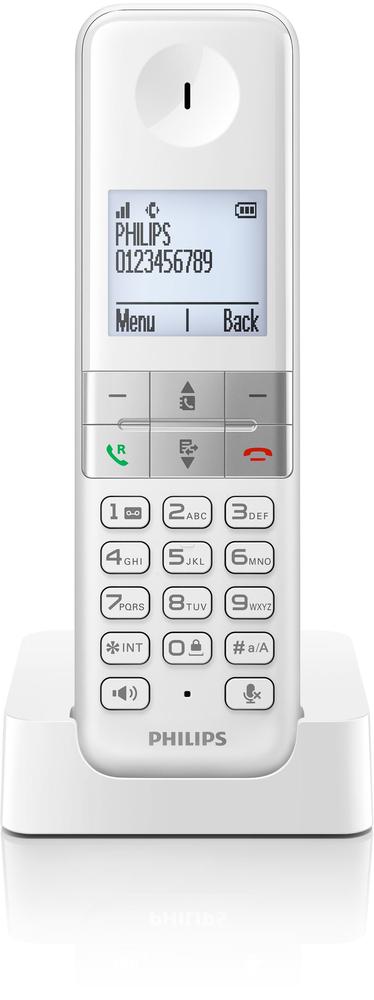TELEF. INALAMBRICO DECT DIGITAL PHILIPS D4501W/23