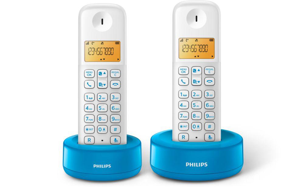 TELEF. INALAMBRICO DECT DIGITAL PHILIPS D1302WA/23