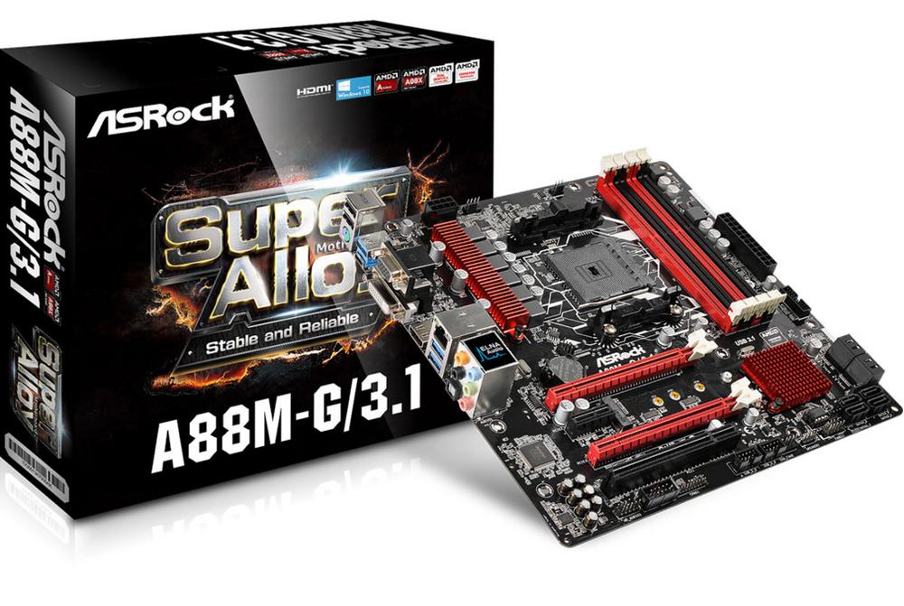 PB ASROCK FM2+ A88M-G/3.1 MICRO ATX