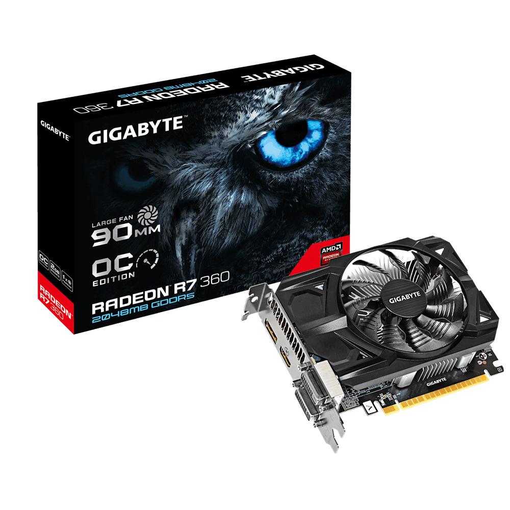 VGA GIGABYTE R7 360 GAMING OC 2GB GDDR5