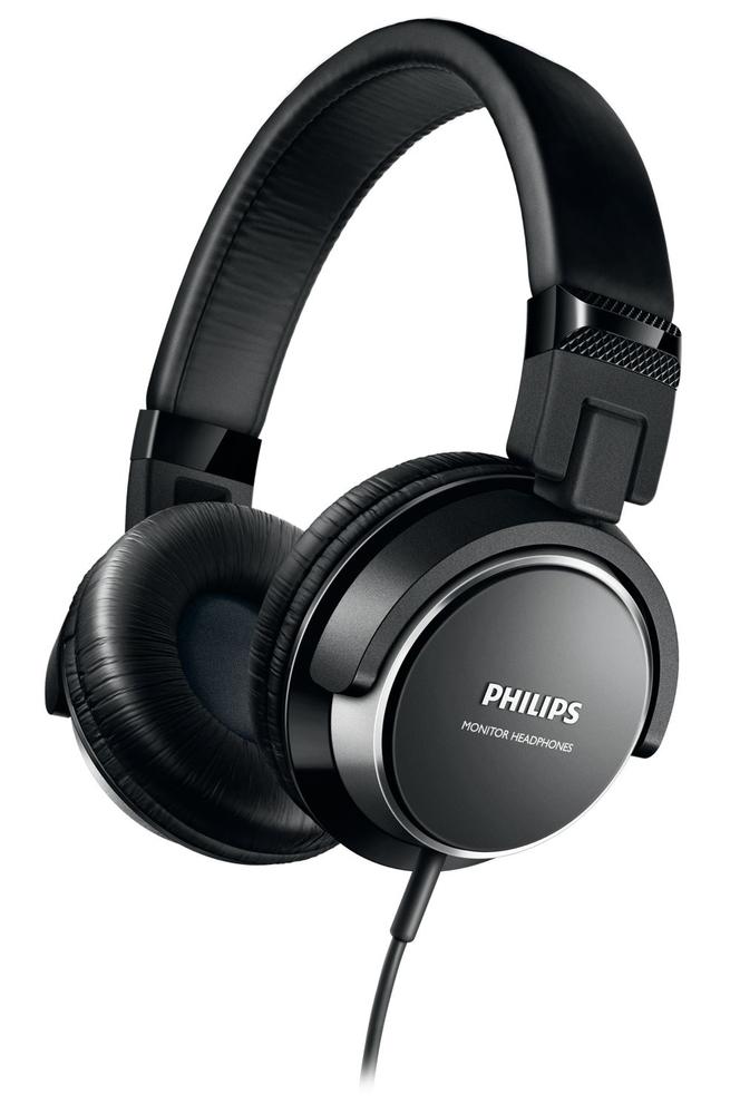 AURICULARES PHILIPS SHL3260BK/00 DJ NEGRO/PLATA