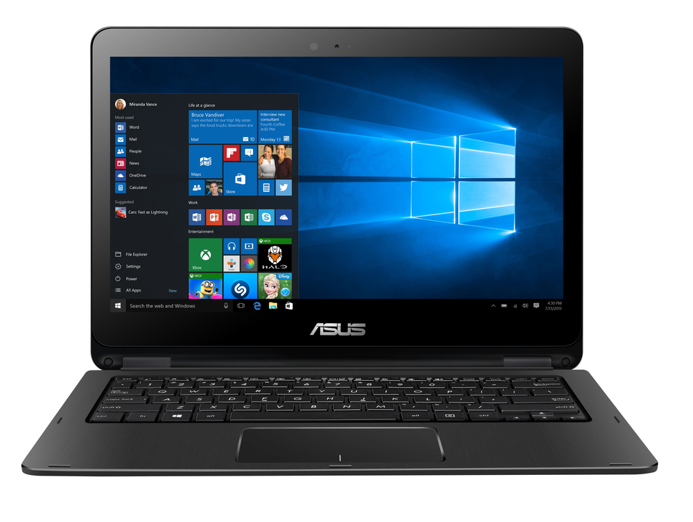 PORTATIL ASUS TRANSFORMER BOOK TP301UA-DW009T NEGR