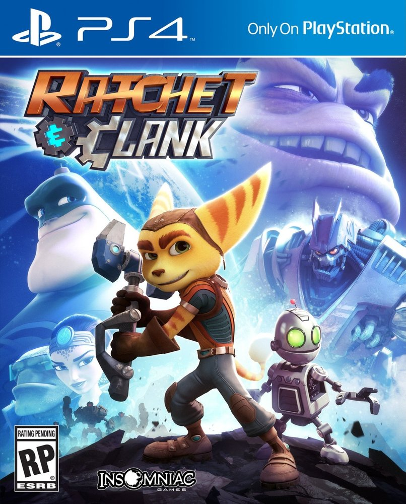 JUEGO VIDEOCONSOLA SONY PS4 RATCHET CLANK