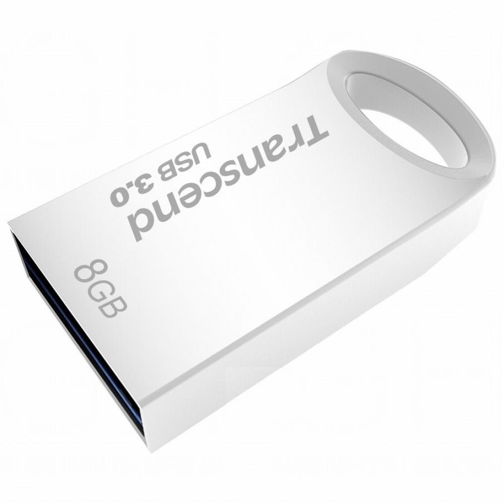 PENDRIVE 8GB USB3.0 TRANSCEND TS8GJF710S PLATA