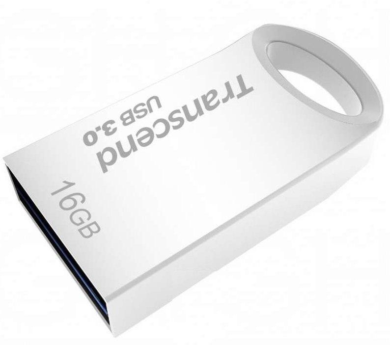 PENDRIVE 16GB USB3.0 TRANSCEND TS16GJF710S PLATA