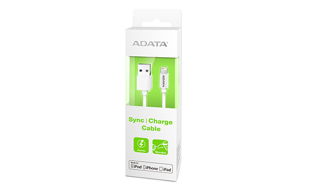 CABLE LIGHTING A USB(A) ADATA BLANCO