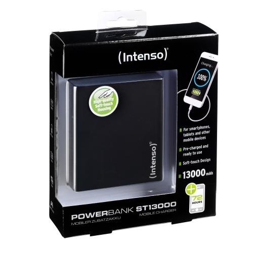 POWERBANK INTENSO ST13000 NEGRO