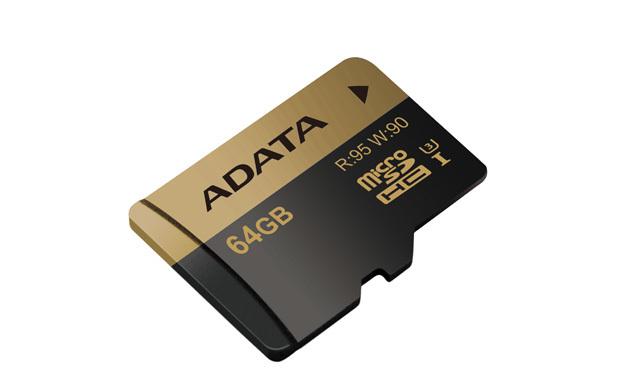MEM MICRO SD 64GB ADATA UHS-I CL10 U3 + ADAPT SD