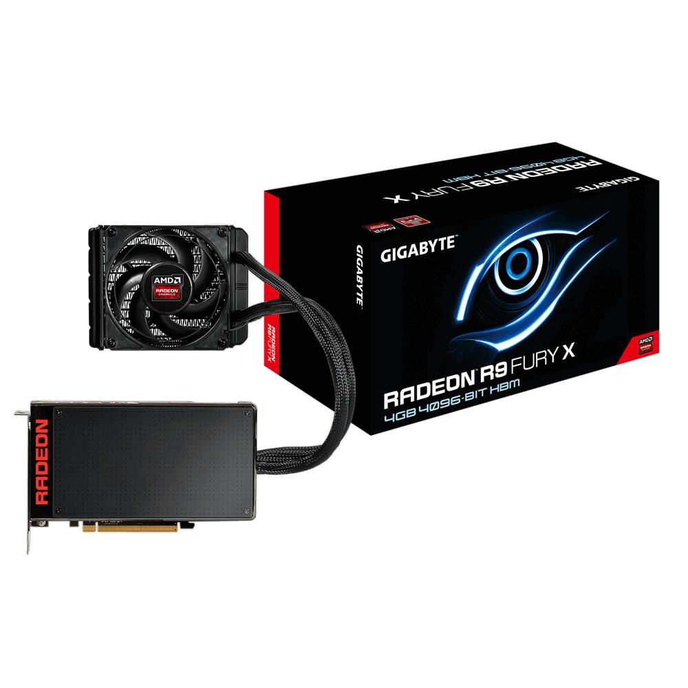 VGA GIGABYTE R9 390X FURY 4GB DDR5 WATERCOOLING