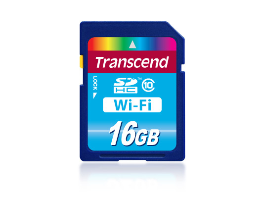 MEM SD 16GB TRANSCEND CL10 WI-FI