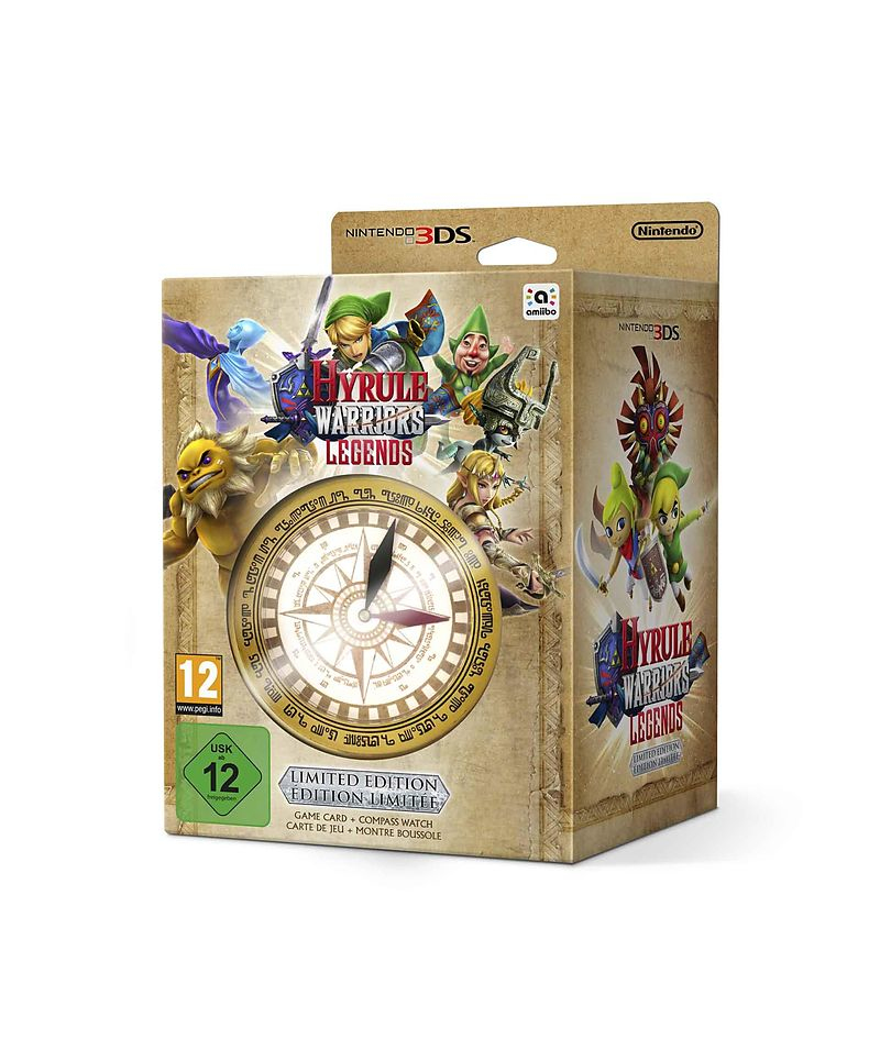 JUEGO VIDEOCONSOLA NINTENDO 3DS HYRULE WARRIORS
