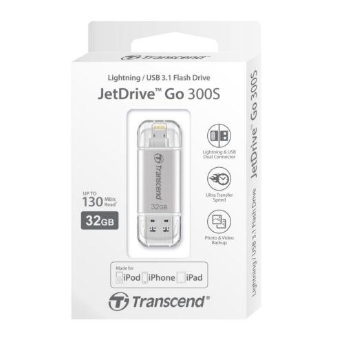 PENDRIVE 32GB LIGHTINING TRANSCEND APPLE SERIES