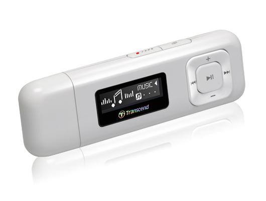 MP3 8GB TRANSCEND MPK330K BLANCO