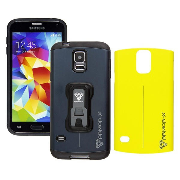FUNDA MOVIL ARMOR-X SAMSUNG GALAXY S4 NEGRA
