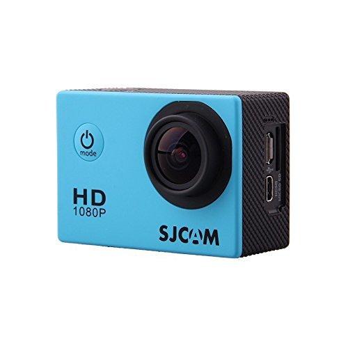 CAMARA VIDEO SJCAM SJ4000 BLUE V2.0 - 1080P-30FPS/12MPX/LCD 1,5 /PACKAGING ESPAÑOL