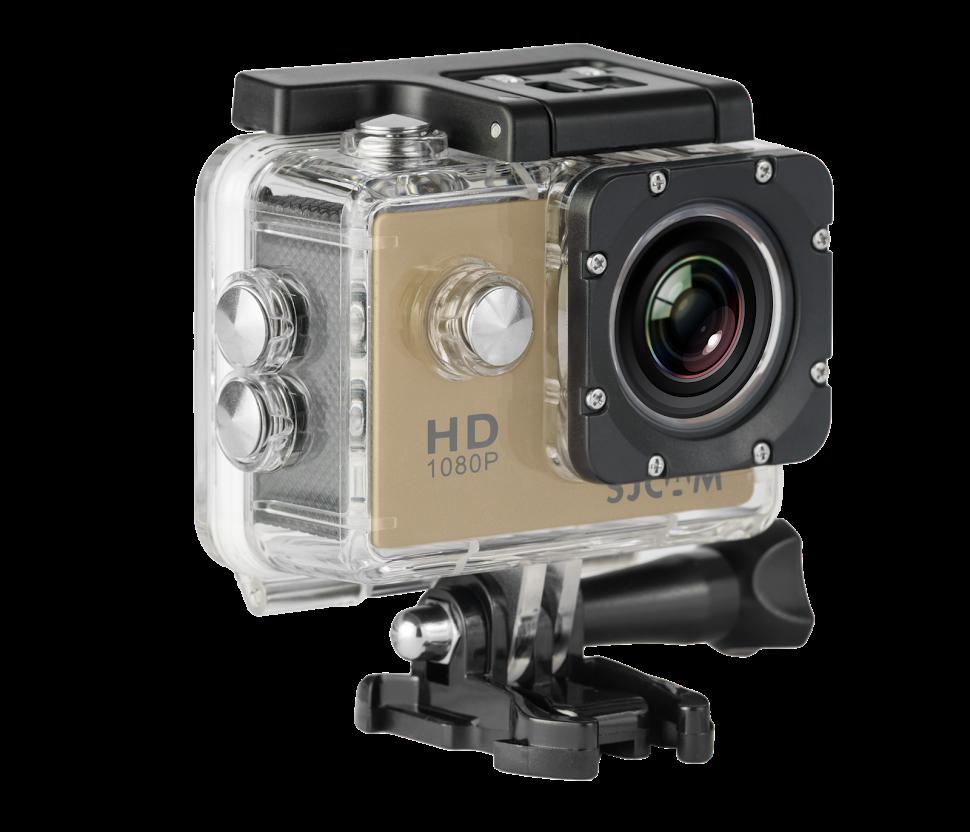 CAMARA VIDEO SJCAM SJ4000 GOLDEN V2.0 - 1080P-30FPS/12MPX/LCD 1,5 /PACKAGING ESPAÑOL