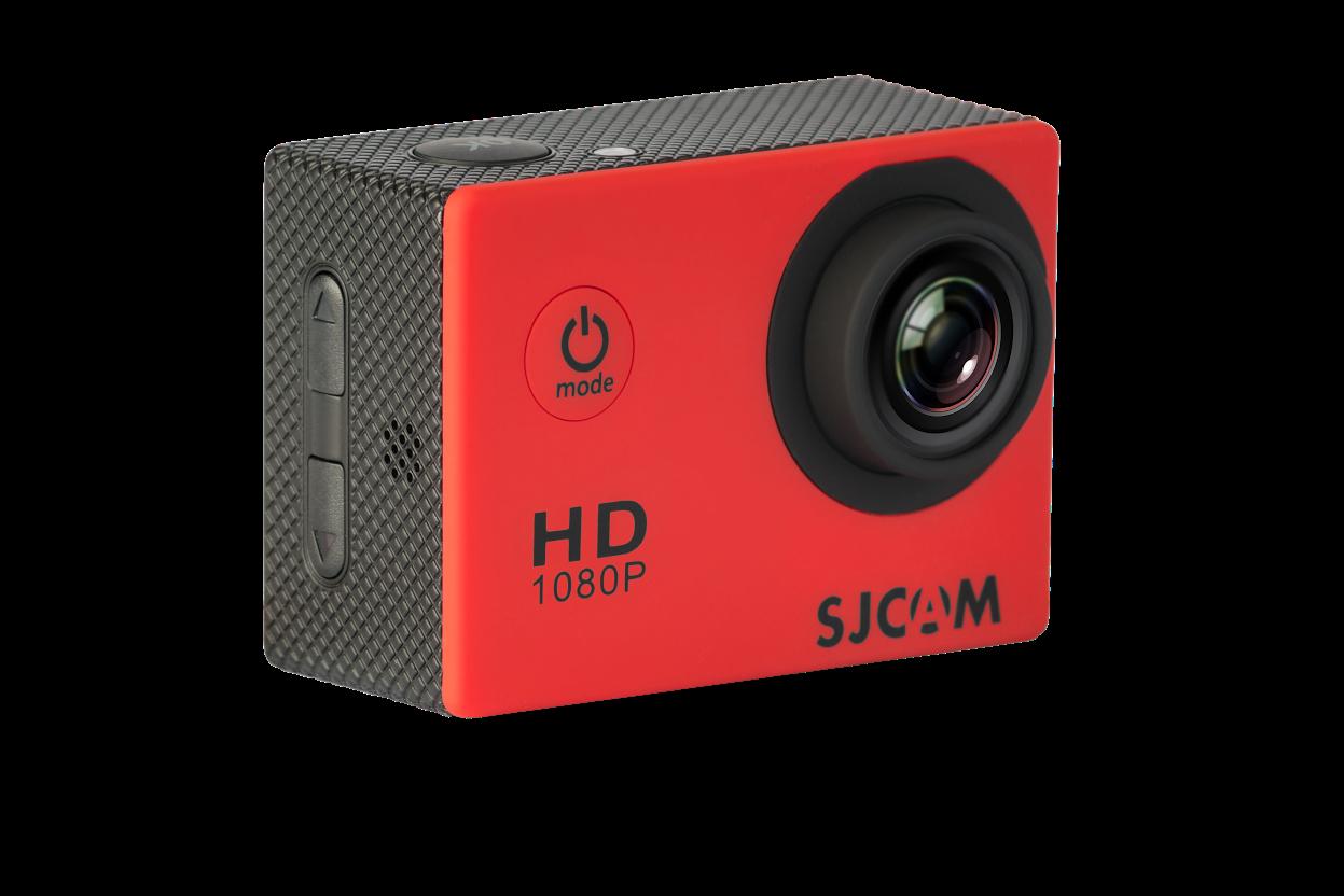CAMARA VIDEO SJCAM SJ4000 RED V2.0 - 1080P-30FPS/12MPX/LCD 1,5 /PACKAGING ESPAÑOL