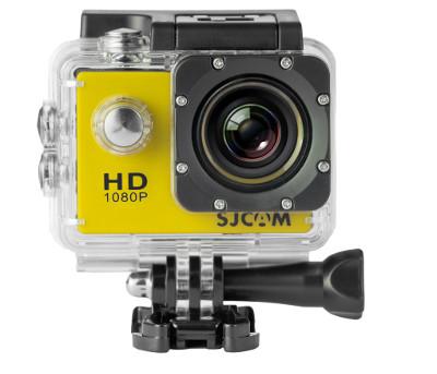 CAMARA VIDEO SJCAM SJ4000 YELLOW V2.0 - 1080P-30FPS/12MPX/LCD 1,5 /PACKAGING ESPAÑOL